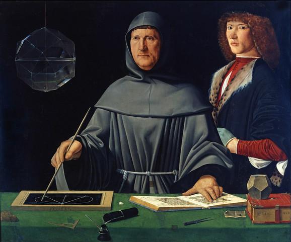 Portret Luke Paćolija iz 1495.