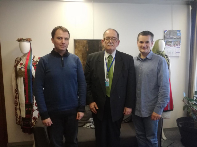 Viktor Lazić, Darko Tanasković i Milan Varadinović