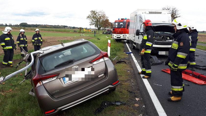 Tragiczny wypadek w pobliżu Szlichtyngowa