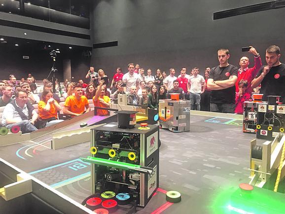 Tri tima idu na EUROBOT 2019