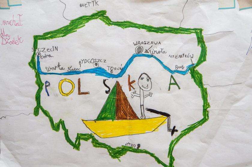 Andrzej Górszczyk przepłynął Polskę wzdłuż i wszerz