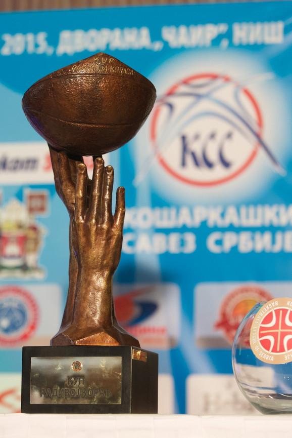 Trofej Kupa Radivoja Koraća