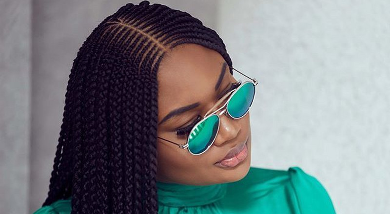 It's true, Sandra Ankobiah's hair has a life of its own