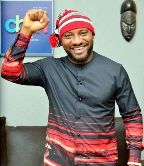 Yul Edochie, escaped death when his car crashed on Tuesday, May 4, 2019.