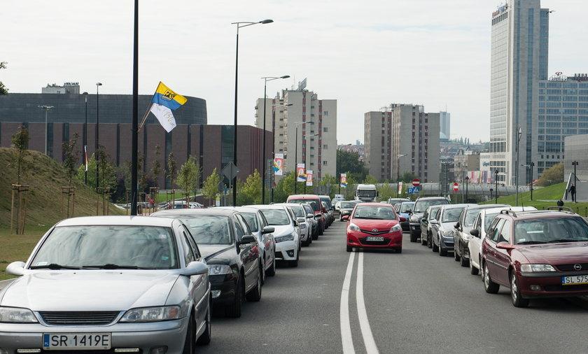 Katowice. Brak parkingów w Strefie Kultury