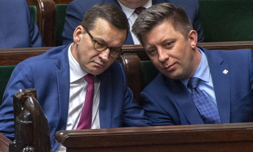 NIK ma złożyć zawiadomienie do prokuratury przeciwko Mateuszowi Morawieckiemu i Michałowi Dworczykowi.