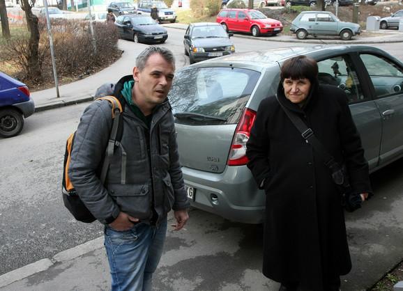 Nezadovoljni stanari: Nenad Janković i Andrijana Marušić