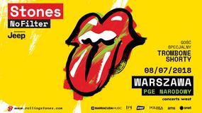 Trombone Shorty supportem przed koncertem The Rolling Stones w Polsce