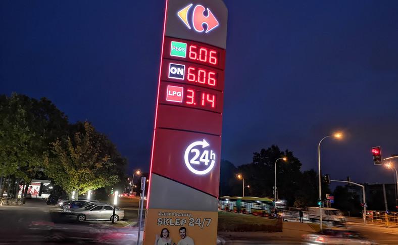 Stacja paliw - ceny