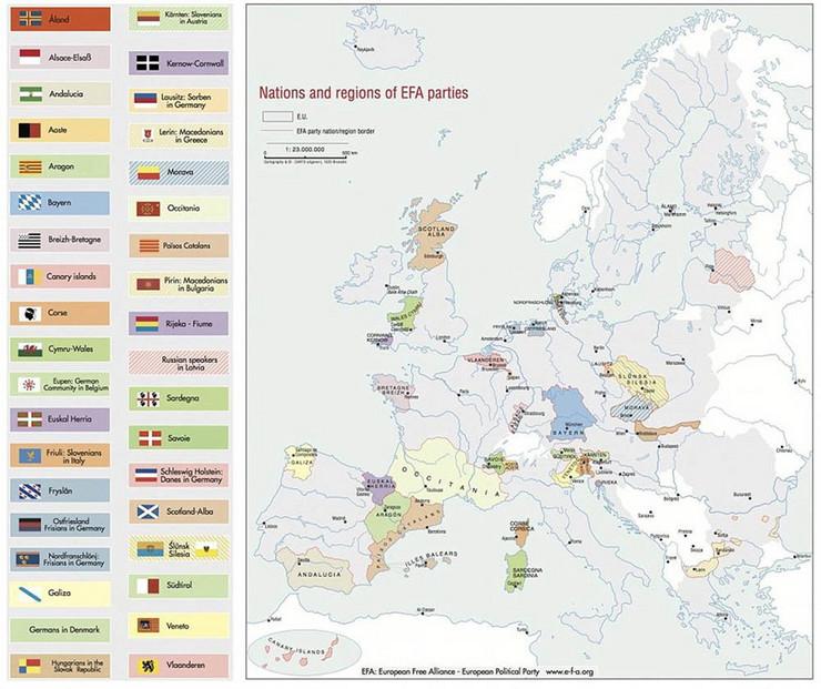 Srednji Vek Ovako Bi Izgledala Mapa Evrope Kada Bi Svi