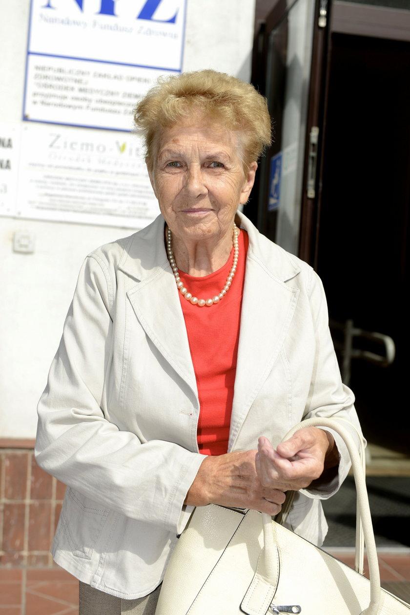Teresa Nawrocka (77 l.), pacjentka