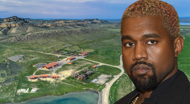 Millennials might not be buying multimillion-dollar ranches, but Kanye West sure is