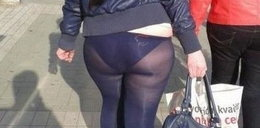 One nigdy nie powinny założyć legginsów