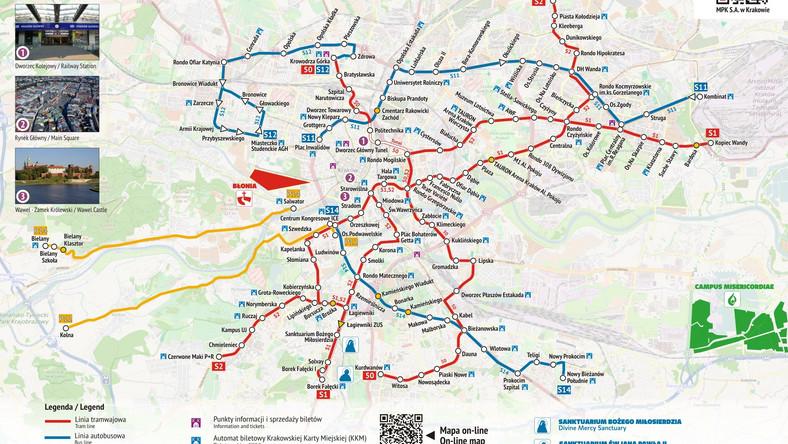 Sdm 2016 Krakow Rozklad Jazdy Mapa Krakow