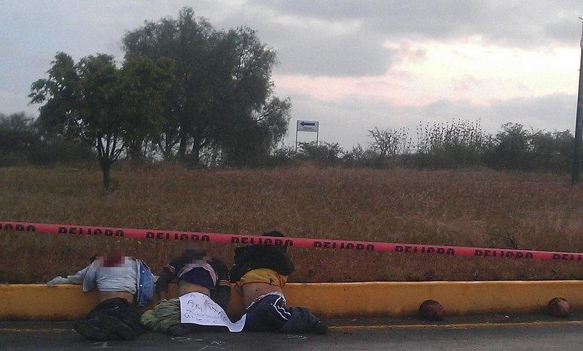 Policja znalazła pięć ciał pozbawionych głów