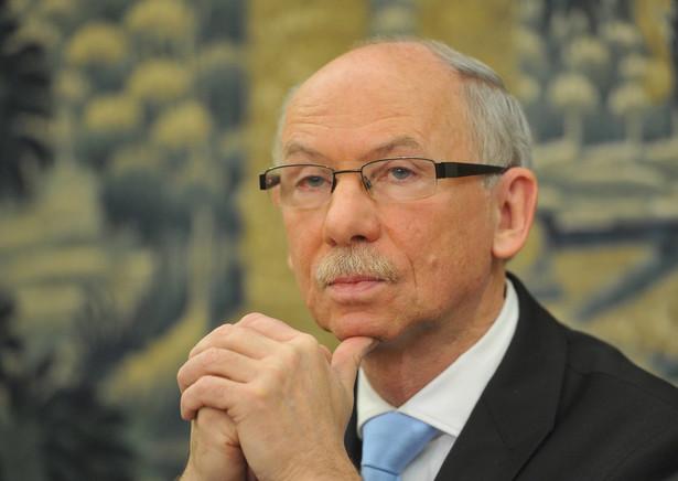 Janusz Lewandowski, komisarz europejski ds. programowania finansowego i budzetu w KE