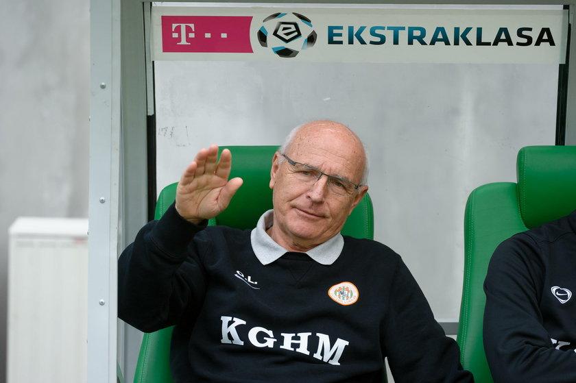 Orest Lenczyk, trener Zagłębia Lubin w sezonie 2013/2014