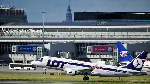 Lotnisko Chopina w Warszawie obsługuje 38 proc. całego ruchu pasażerskiego w Polsce