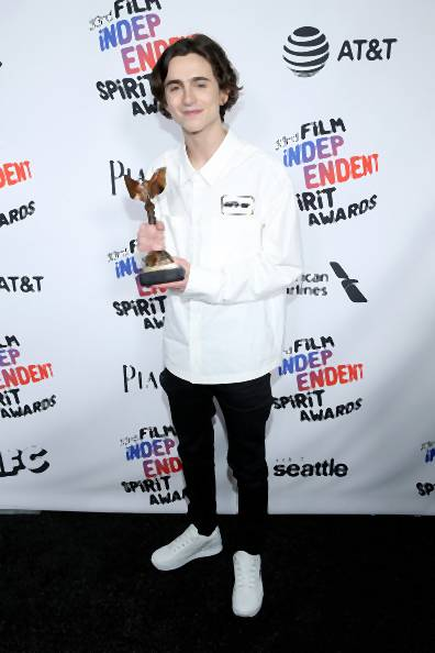 Timothee Chalamet w Off-White