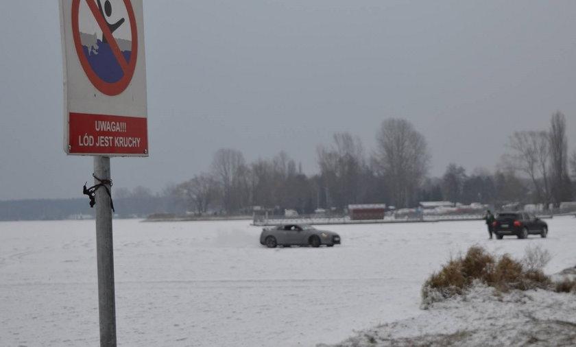 Samochodem po Zalewie Zegrzyńskim