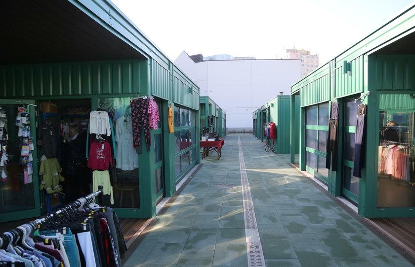 Odnowiony bazar Różyckiego