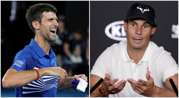 Novak Đoković i Rafael Nadal