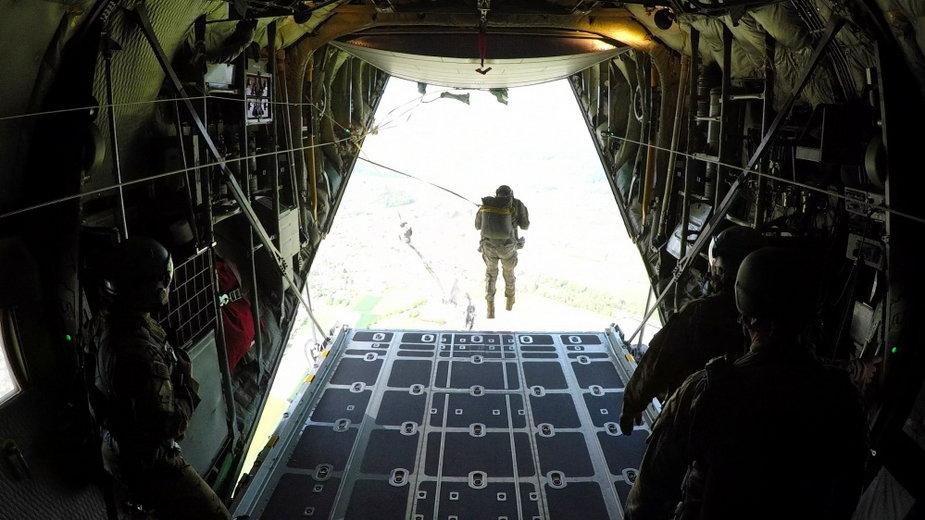 Ćwiczenia amerykańskich spadochroniarzy w Niemczech (2019 r.)