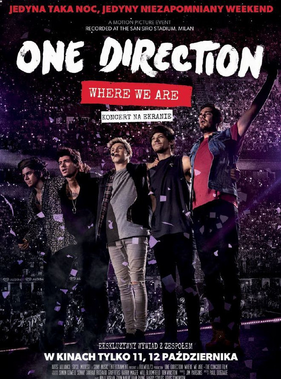 """One Direction: Where We Are"" - plakat"