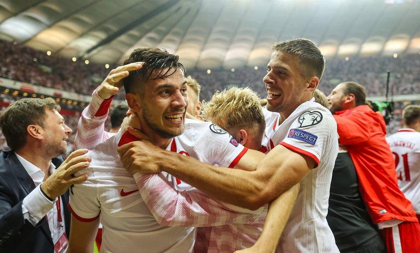 Pilka nozna. Eliminacje do MS 2022. Polska - Anglia. 08.09.2021
