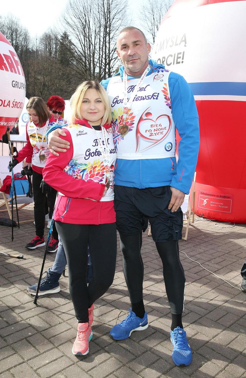 Nicole Saleta i Przemysław Saleta