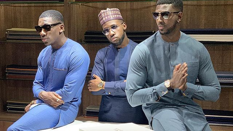 We can't have enough of Kupe boys in classic African style