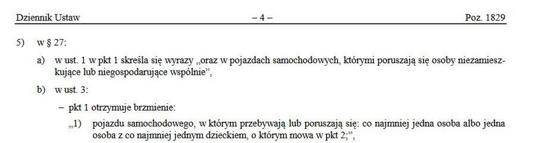 Rozporządzenie z 16 października 2020 r
