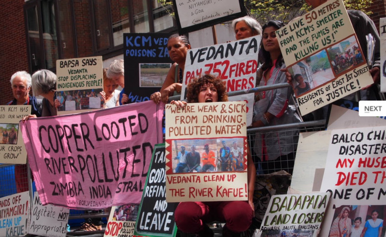 Lungowe v Vedanta. (The Ecologist)