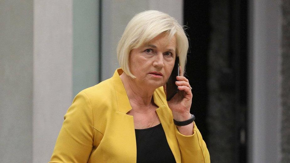 Lidia Staroń odwołała spotkanie z kołem Polska 2050