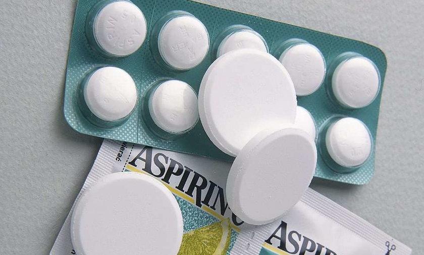 Aspiryna zapobiega rakowi