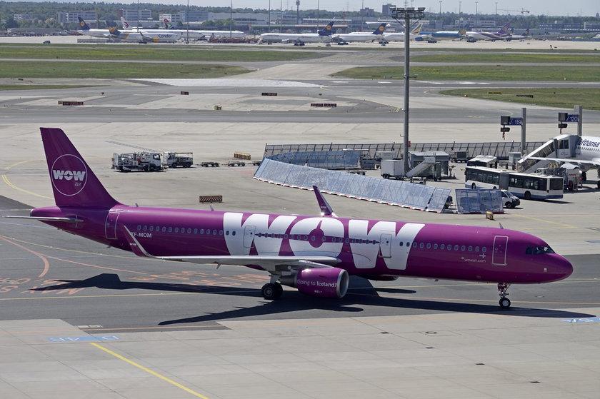 Samolot lini WOW Air