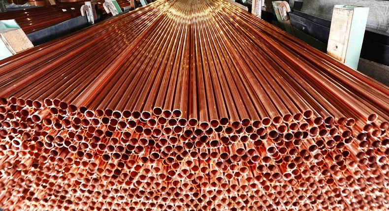 Zambia is the second largest producer of Copper in Africa
