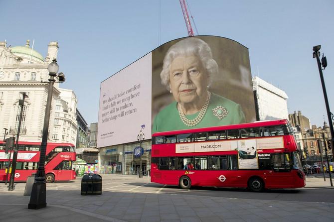 Kraljica se obraća povodom epidemije korona virusa
