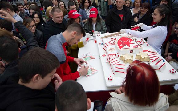 Golman crveno-belih Zoran Popović