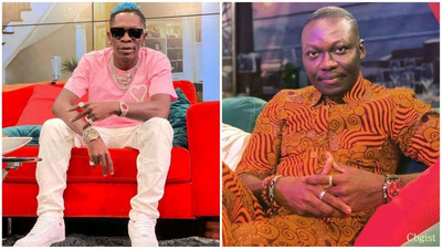 Have you bought a house before? - Shatta Wale clashes with pundit, Arnold Asamoah on TV [Watch]