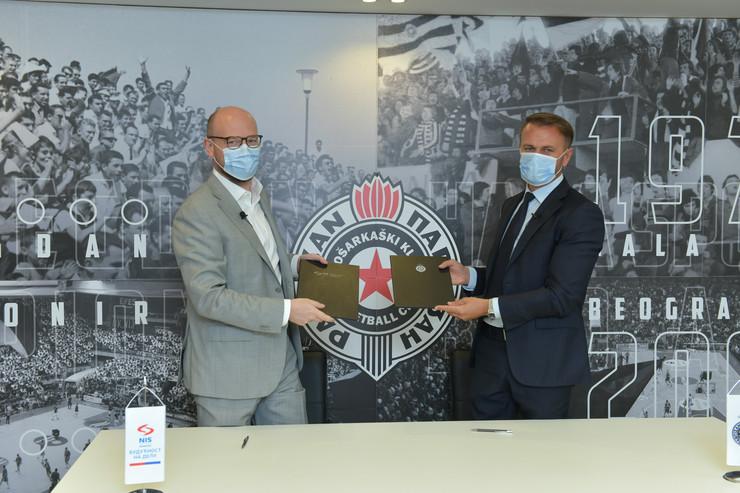 """NIS i """"Partizan"""" nastavljaju saradnju"""