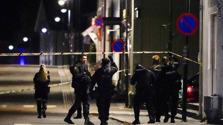 Atak w Norwegii w mieście Kongsberg