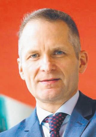 Michał Gajewski prezes Santander Bank Polska