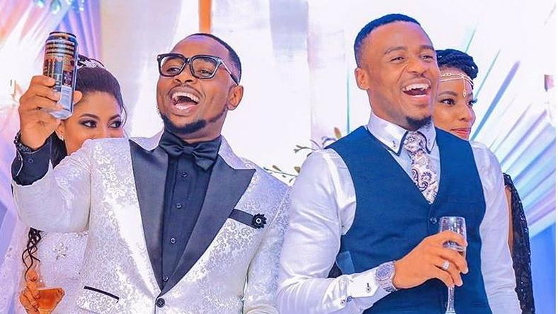 Ommy Dimpoz with Alikiba. Ommy Dimpoz hospitalized again