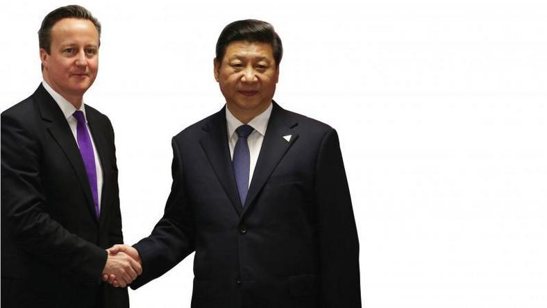 Chinese President Xi says wants China-British ties to reach new level
