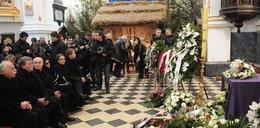 Pogrzeb Ireny Jarockiej na Powązkach. Foto