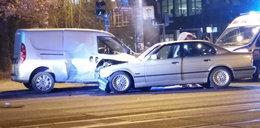 Wypadek na Piotrkowskiej. Ranni kierowcy
