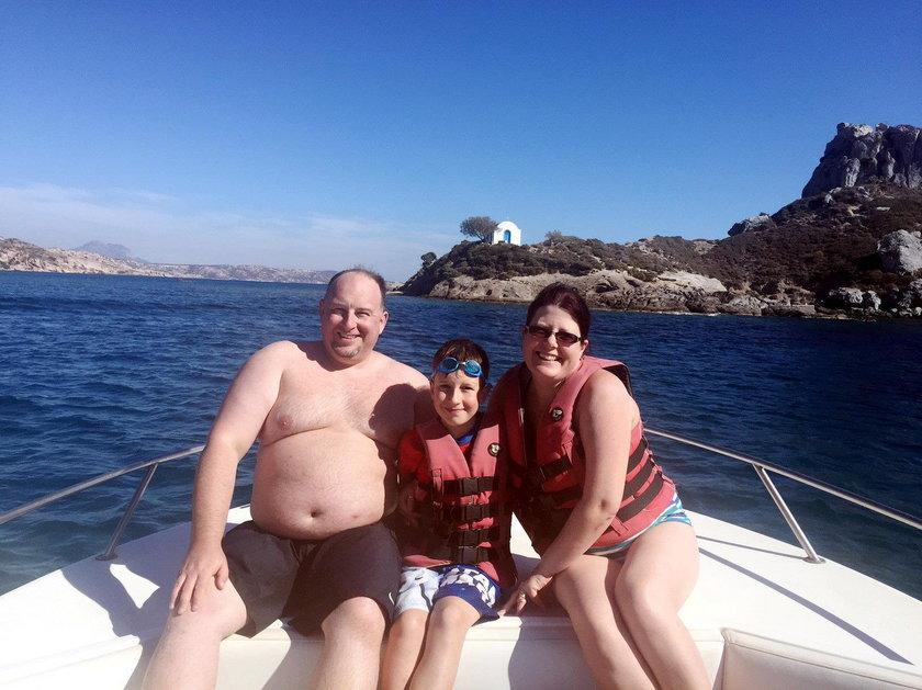 Chwilę po zrobieniu tego zdjęcia rodzinne wakacje zamieniły się w koszmar