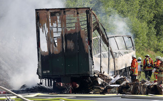 Rzecznik niemieckiego rządu: Wielu ludzi zginęło w wypadku autokaru