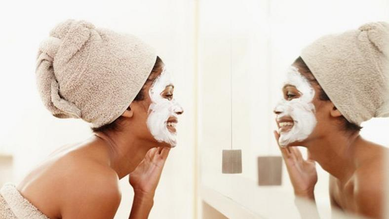 Facial brightens the skin